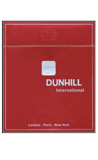 Dunhill International Button Red